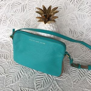 MARC by Marc Jacobs turquoise blue crossbody bag